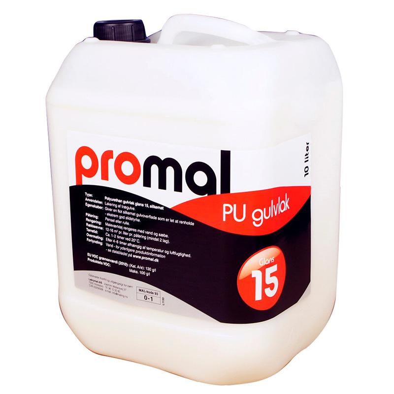 gulvlak glans 15 - 10 liter